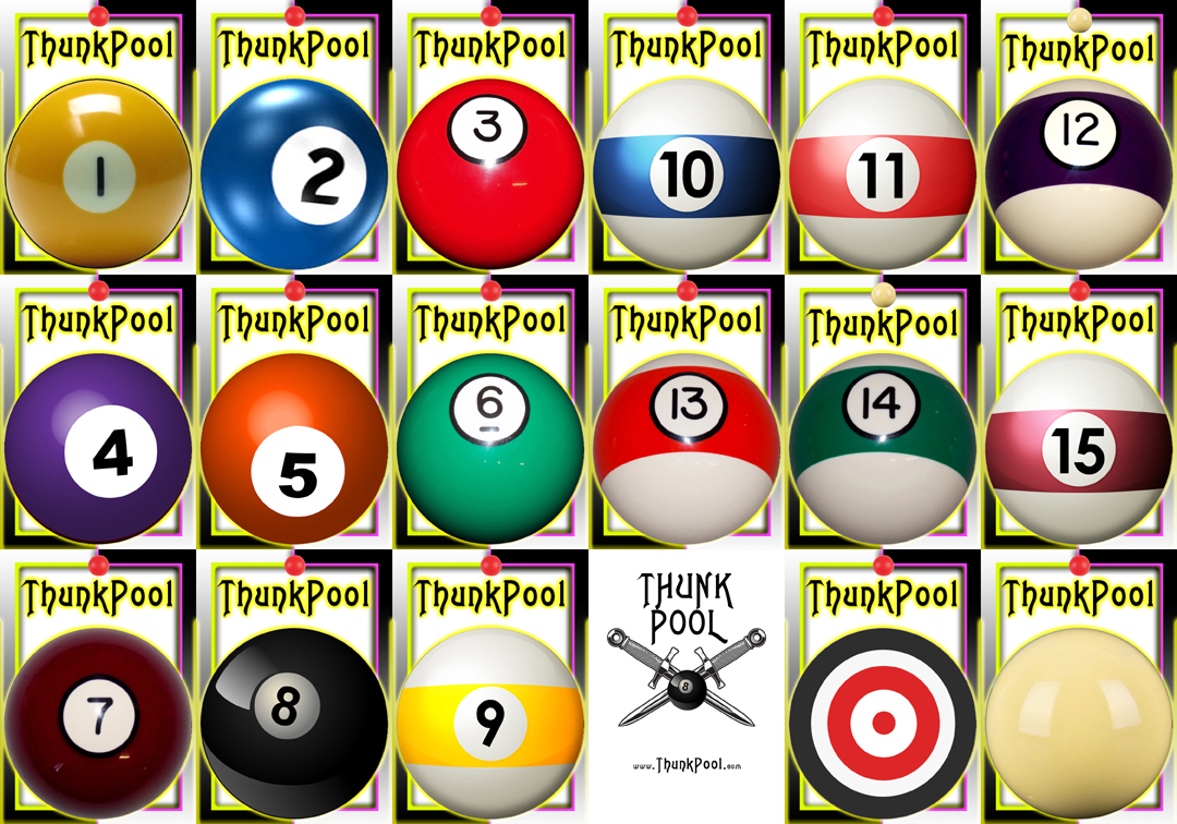 ThunkPool Ball Set 01 - Classic Set